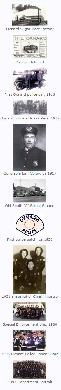 Oxnard Police Department History